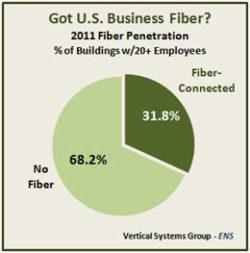 U.S. Business Fiber Penetration Rises to 31.8%