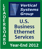2012 U.S. Business Ethernet LEADERBOARD