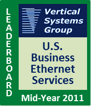 Mid-2011 U.S. Business Ethernet LEADERBOARD