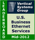 Mid-2012 U.S. Business Ethernet LEADERBOARD