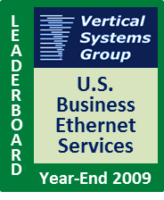 2009 U.S. Business Ethernet LEADERBOARD