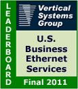 2011 U.S. Business Ethernet LEADERBOARD