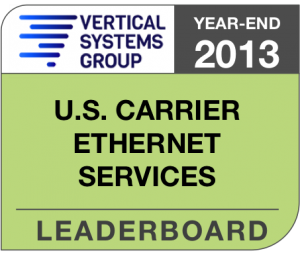 2013 U.S. Carrier Ethernet LEADERBOARD