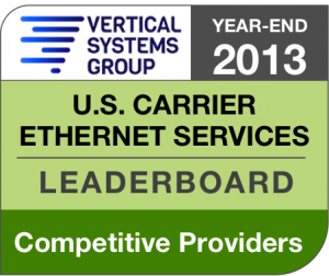 2013 U.S. Competitive Provider Ethernet LEADERBOARD