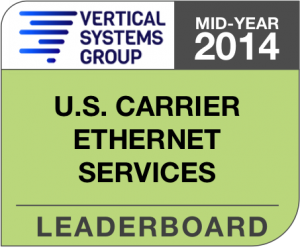 Mid-Year 2014 U.S. Carrier Ethernet LEADERBOARD