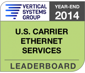 2014 U.S. Carrier Ethernet LEADERBOARD