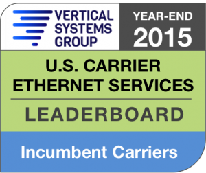 2015 U.S. Incumbent Carrier Ethernet LEADERBOARD