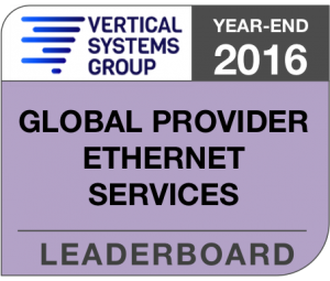 2016 Global Provider Ethernet LEADERBOARD