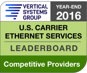 2016 U.S. Competitive Provider Ethernet LEADERBOARD