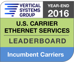 2016 U.S. Incumbent Carrier Ethernet LEADERBOARD