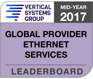 Mid-Year 2017 Global Provider Ethernet LEADERBOARD