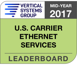 Mid-Year 2017 U.S. Carrier Ethernet LEADERBOARD