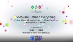 Software Defined Everything: Moving from Simple Virtualization to Business-Critical Services