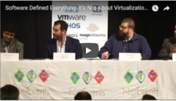Video: Debate Session - Software Defined Everything: It's Not About Virtualization, It's About Services